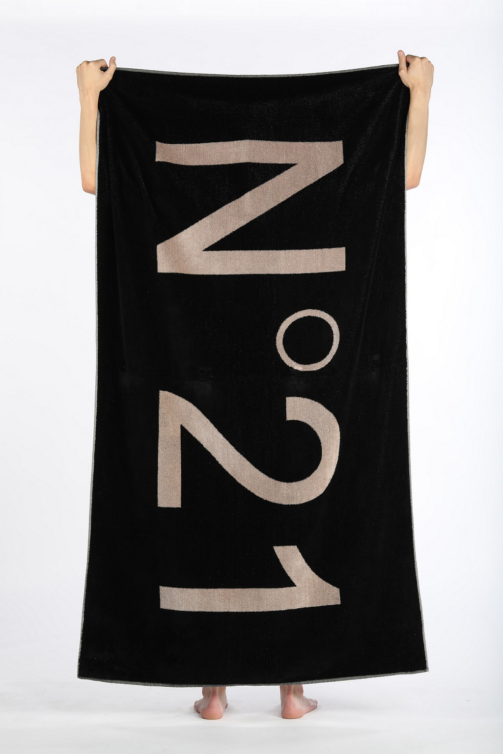 men, accessories, beach towel, N21, numeroventuno